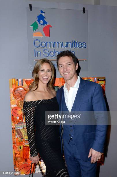 Andrea Savage and Jeremy Plager attend Communities In Schools LA Annual Event on April 25 2019 in Los Angeles California