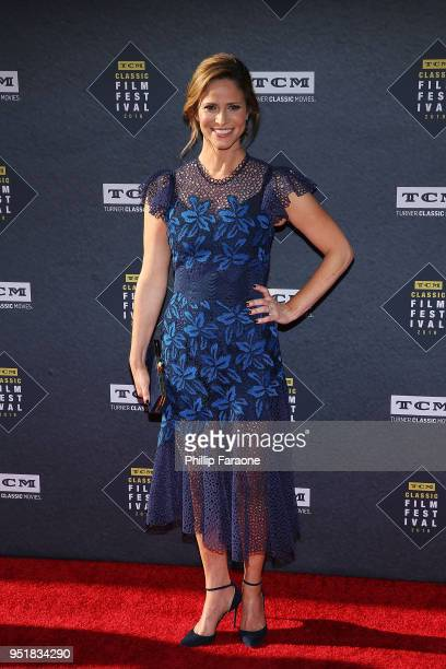 Andrea Savage attends the 2018 TCM Classic Film Festival Opening Night Gala 50th Anniversary World Premiere Restoration of The Producers at TCL...