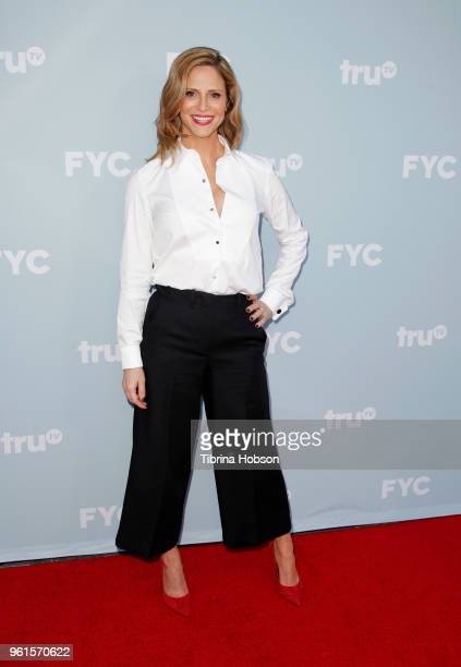 Andrea Savage attends truTV's offical FYC event for 'At Home With Amy Sedaris' and Andrea Savage's 'I'm Sorry' at NeueHouse Hollywood on May 22 2018...
