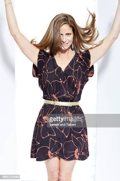 Andrea Savage creator of TruTV's 'I'm Sorry' is photographed for Entertainment Weekly Magazine on June 10 2017 in Austin Texas