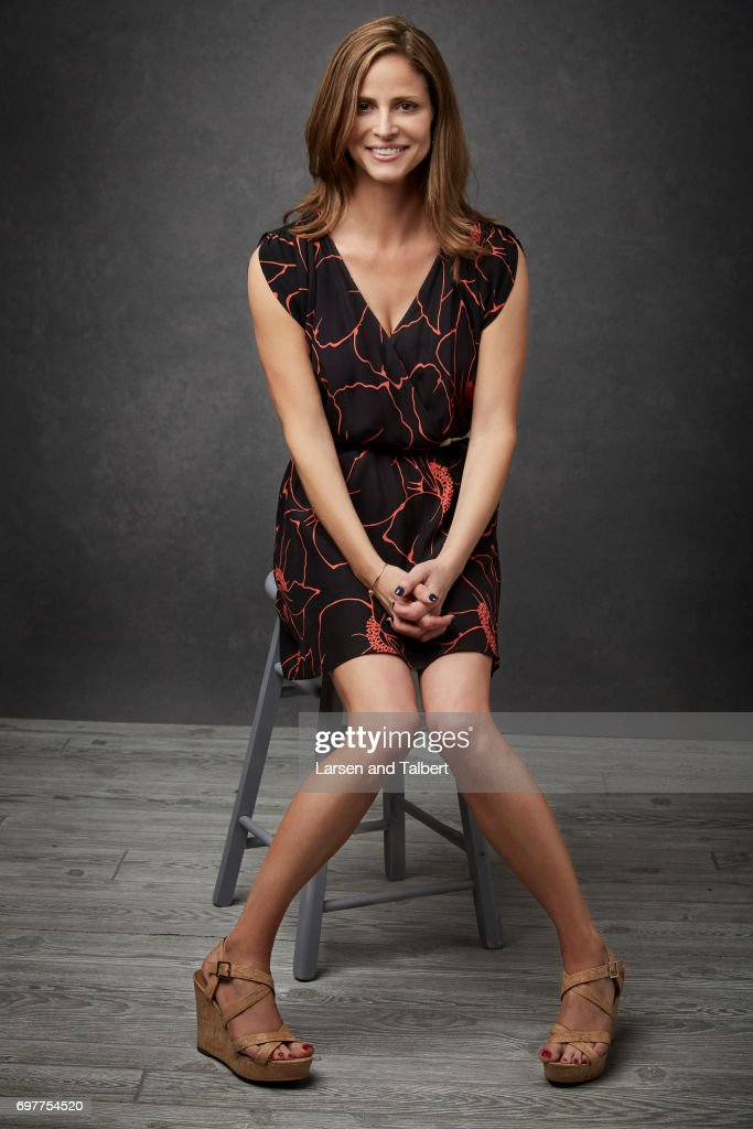 Andrea Savage creator of TruTV's 'I'm Sorry' is photographed for Entertainment Weekly Magazine on June 10, 2017 in Austin, Texas.