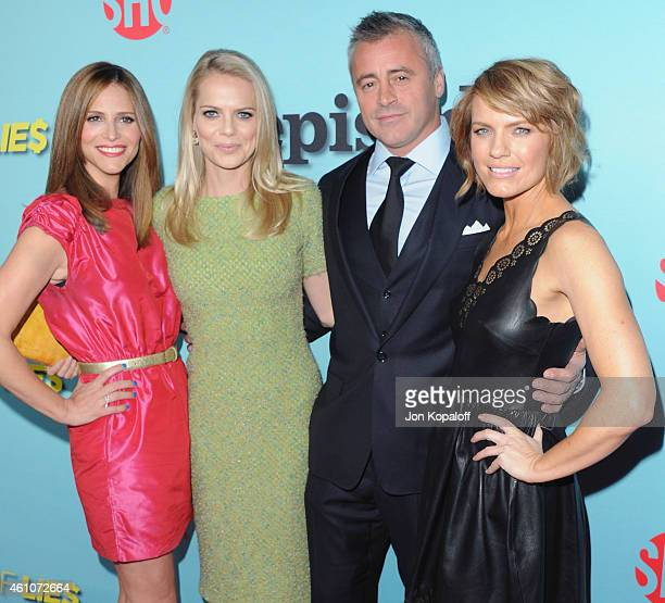 "Andrea Savage, Mircea Monroe, Matt LeBlanc and Kathleen Rose Perkins arrive at Showtime Celebrates All-New Seasons Of ""Shameless,"" ""House Of Lies""..."