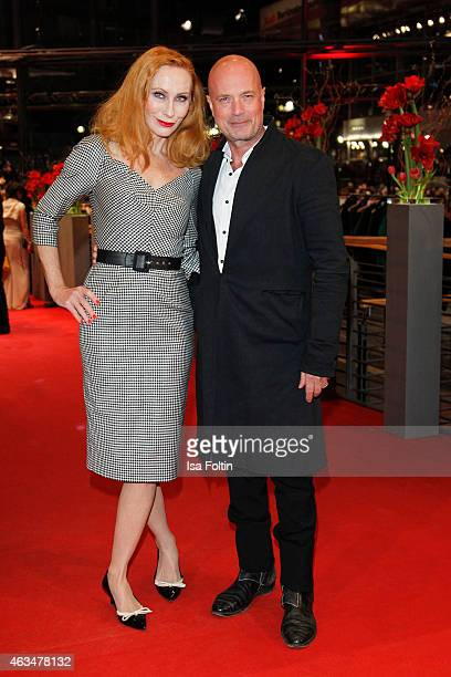 Andrea Sawatzki and Christian Berkel attend the Closing Ceremony of the 65th Berlinale International Film Festival on February 14 2015 in Berlin...