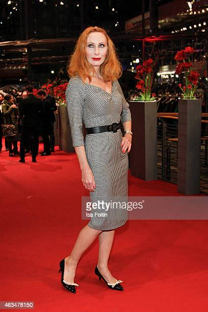 Andrea Sawatzki attends the Closing Ceremony of the 65th Berlinale International Film Festival on February 14 2015 in Berlin Germany