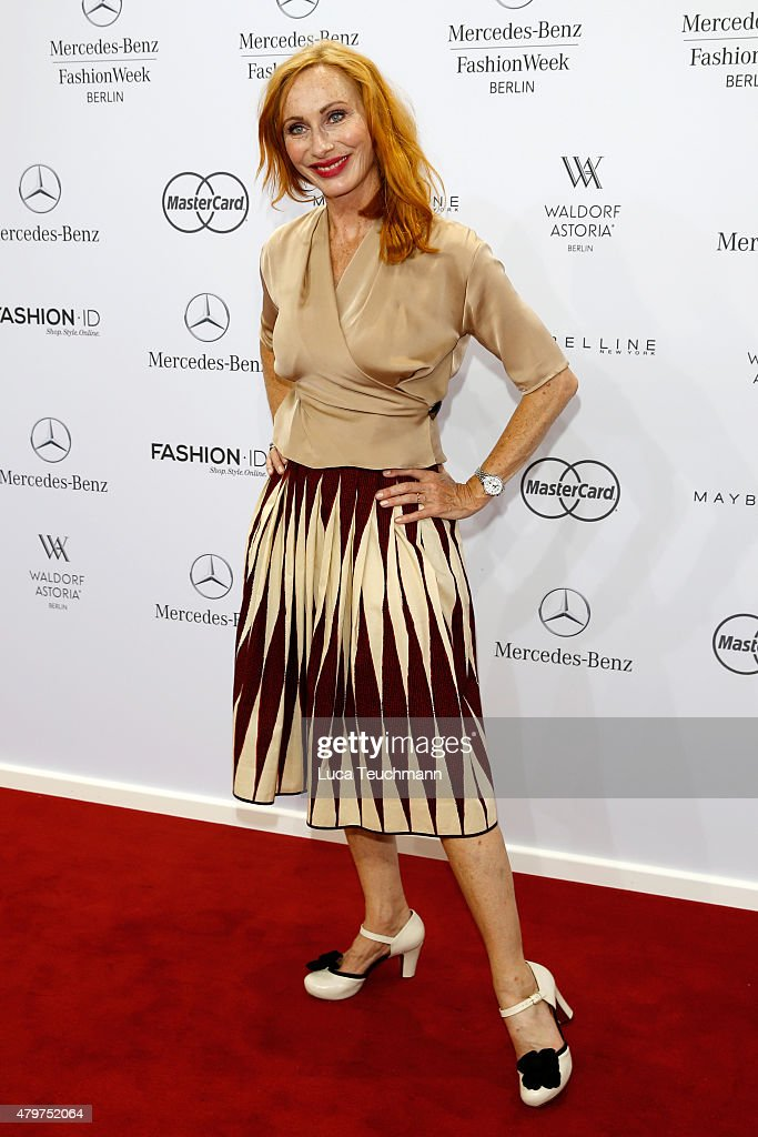 Lena Hoschek Arrivals - Mercedes-Benz Fashion Week Berlin Spring/Summer 2016