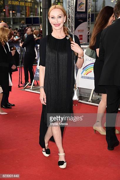 Andrea Sawatzki attends the Radio Regenbogen Award 2016 on April 22, 2016 in Rust, Germany.