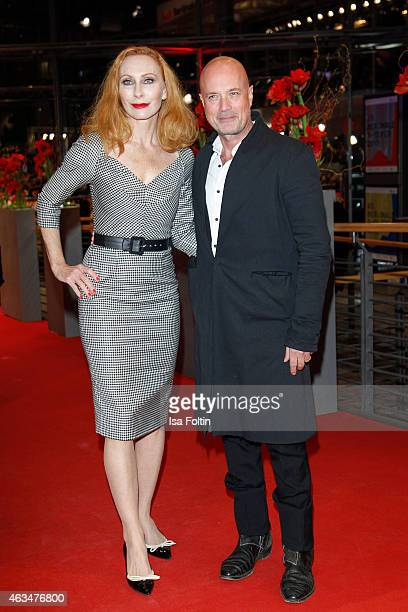 Andrea Sawatzki Christian Berkel attends the Closing Ceremony of the 65th Berlinale International Film Festival on February 14 2015 in Berlin Germany