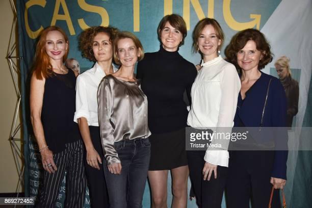 Andrea Sawatzki, Marie-Lou Sellem, Judith Engel, Nicole Marischka Milena Dreissig and Victoria Trauttmansdorff attend the 'Casting' premiere at...