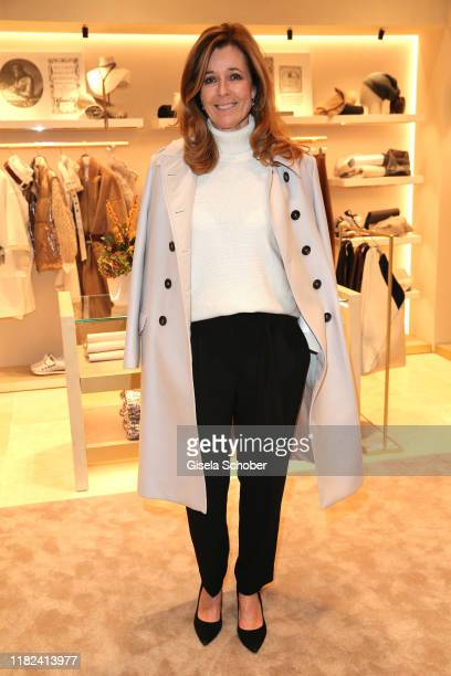 Andrea Schoeller during the Brunello Cucinelli women store opening on November 14, 2019 in Munich, Germany.