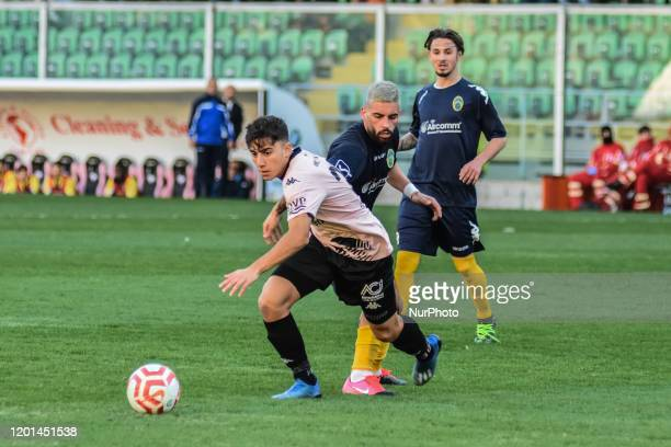 Andrea Silipo during the serie D match between SSD Palermo and ASD Biancavilla at Stadio Renzo Barbera on February 16, 2020 in Palermo, Italy.