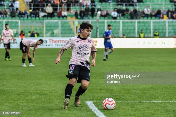 Andrea Silipo during the serie D match between SSD Palermo and Marsala at Stadio Renzo Barbera on January 05 2020 in Palermo Italy
