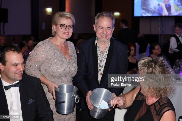 Andrea Spatzek and Helmut Zerlett attend the charity event Dolphin's Night at InterContinental Hotel on November 25 2017 in Duesseldorf Germany