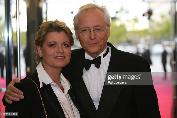 Andrea Spatzek and Joachim Herrmann Luger attend the German Television Awards at the Coloneum on October 20 2006 in Cologne Germany