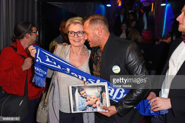 Andrea Spatzek and Willi Herren attend the 'Tivoli Cologne' Opening on March 27 2018 in Cologne Germany