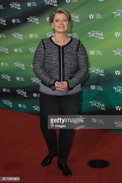 Andrea Spatzek attends the anniversary celebration of the musical 'Tarzan at Stage Metronom Theater on November 5 2017 in Oberhausen Germany