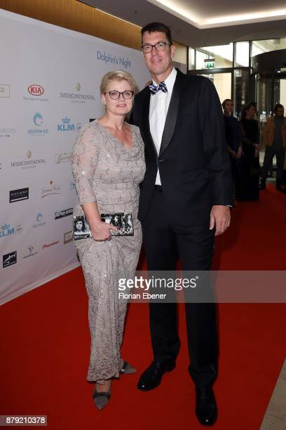 Andrea Spatzek attends the charity event Dolphin's Night at InterContinental Hotel on November 25 2017 in Duesseldorf Germany