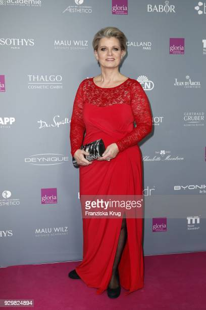 Andrea Spatzek attends the Gloria Deutscher Kosmetikpreis at Hilton Hotel on March 9 2018 in Duesseldorf Germany
