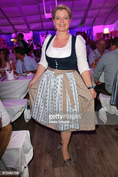 Andrea Spatzek during a bavarian evening ahead of the Kaiser Cup 2017 at the Quellness Golf Resort on July 7 2017 in Bad Griesbach near Passau Germany