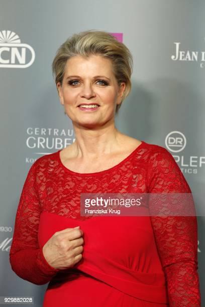 Andrea Spatzek during the Gloria Deutscher Kosmetikpreis at Hilton Hotel on March 9 2018 in Duesseldorf Germany