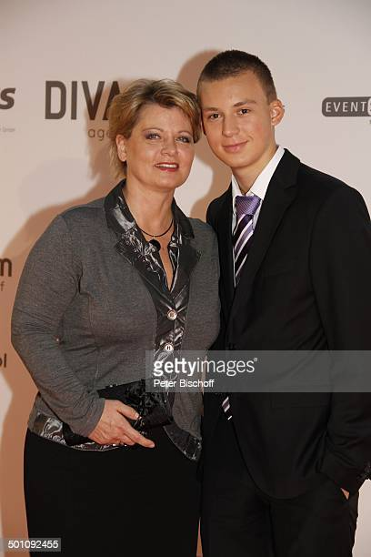 Andrea Spatzek Sohn Alexander CharityVeranstaltung 18 'UnescoBenefizGala' 2010 für Kinder in Not Hotel 'Maritim' Düsseldorf NordrheinWestfalen...