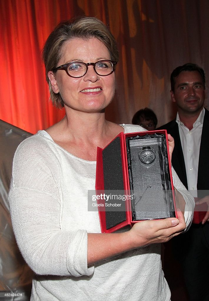 Andrea Spatzek with award attends the Kaiser Cup 2014 Gala on July 19, 2014 in Bad Griesbach near Passau, Germany.