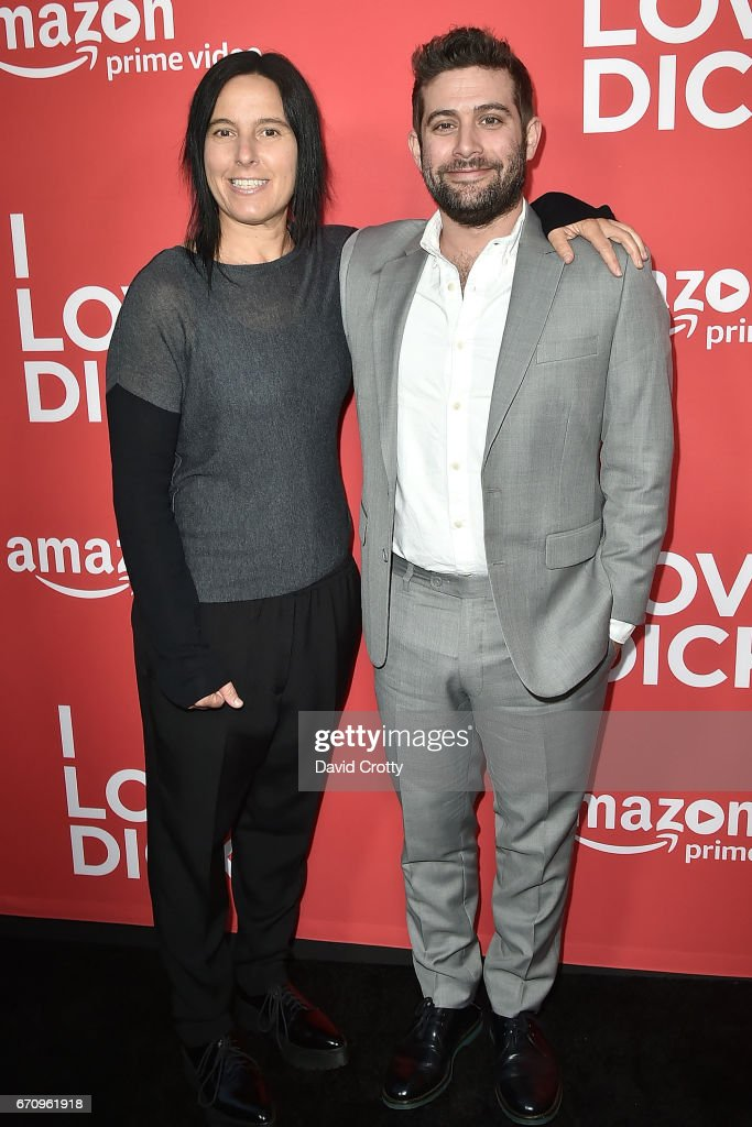 Andrea Sperling and Joe Lewis attend the Premiere Of Amazon's 'I Love Dick' - Arrivals on April 20, 2017 in Los Angeles, California.