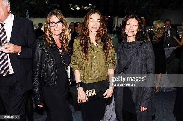 Andrea Stanford Kelly Wearstler and Melissa Bomes attend 17th Annual Los Angeles Antiques Art Design Show Opening Night Party Benefiting The...