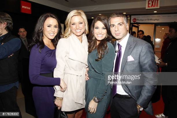 Andrea Tantaros Ainsley Earhardt Kimberly Guilfoyle and Joseph Douek attend Sony Opening At Willoughby's with Nigel Barker's 'Beauty Equation' at...