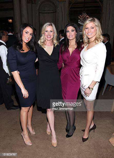 Andrea Tantaros Cheryl Casone Kimberly Guilfoyle and Ainsley Earhardt attend Julien Marinetti's Doggy John exhibition opening at The New York Palace...