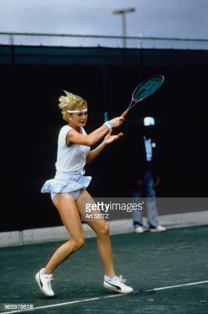 Andrea Temesvari au tournoi Murjani à Palm Beach en février 1983 à Palm Beach EtatsUnis