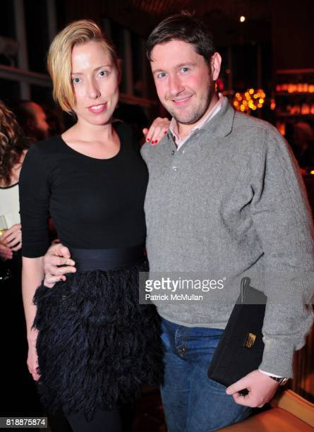 Andrea Tese and Brendan Maher attend NOWNESS Presents the New York Premiere of JeanMichel Basquiat The Radiant Child at MoMa on April 27 2010 in New...
