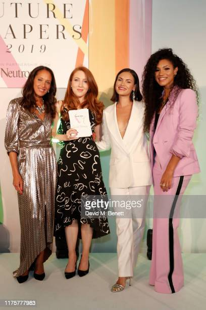Andrea Thompson Alice Tapper Sinead Harnett and Vick Hope attend the Marie Claire Future Shapers Awards in partnership with Neutrogena at One...