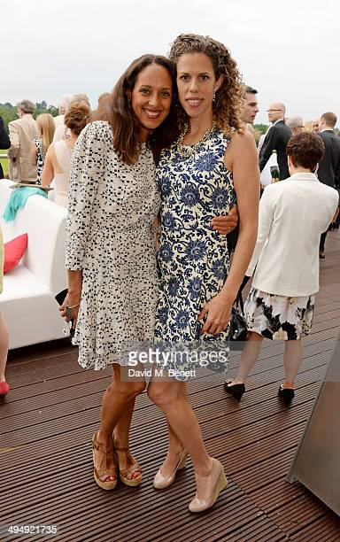 Andrea Thompson attends day one of the Audi Polo Challenge at Coworth Park Polo Club on May 31 2014 in Ascot England