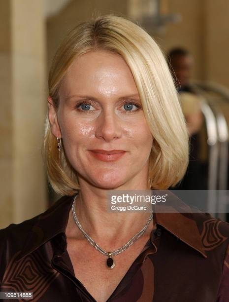 Andrea Thompson during 2003 National Cable Telecommunications Assn Press Tour Day Three at Renaissance Hotel in Hollywood California United States