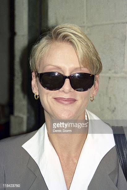 Andrea Thompson during Andrea Thompson Appears on Live with Regis Kathie Lee April 21 1997 at Andrea Thompson appears on Live with Regis Kathie Lee...