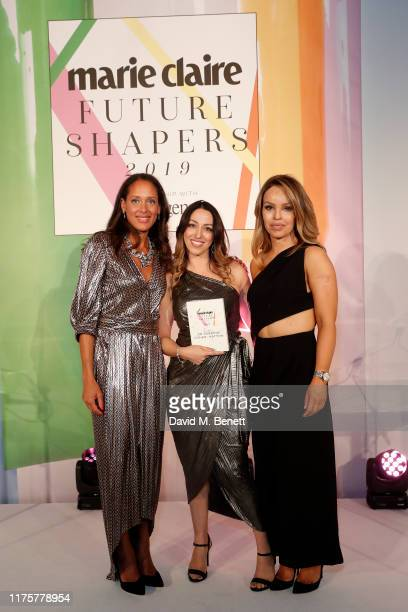 Andrea Thompson Katie Piper and Sabrina CohenHatton attend the Marie Claire Future Shapers Awards in partnership with Neutrogena at One Marylebone on...