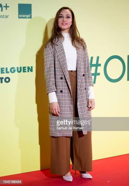 Andrea Trepat attends during Ola De Crimenes' Madrid Premiere on October 3 2018 in Madrid Spain