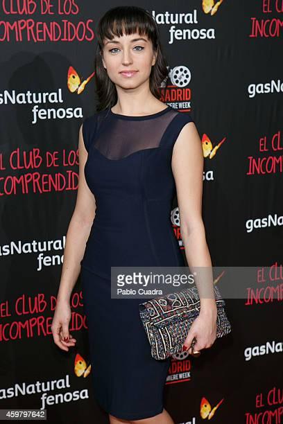 Andrea Trepat attends 'El Club de los Incomprendidos' Premiere on December 1 2014 in Madrid Spain