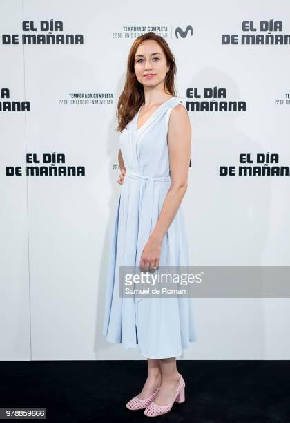 Andrea Trepat attends 'El Dia de Manana' Madrid Premiere on June 19 2018 in Madrid Spain
