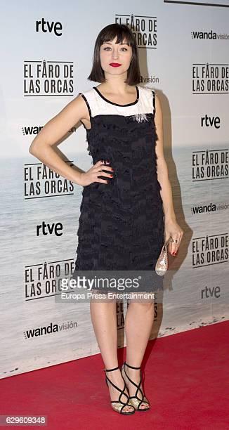Andrea Trepat attends 'El faro de las orcas' premiere at Capitol cinema on December 13 2016 in Madrid Spain