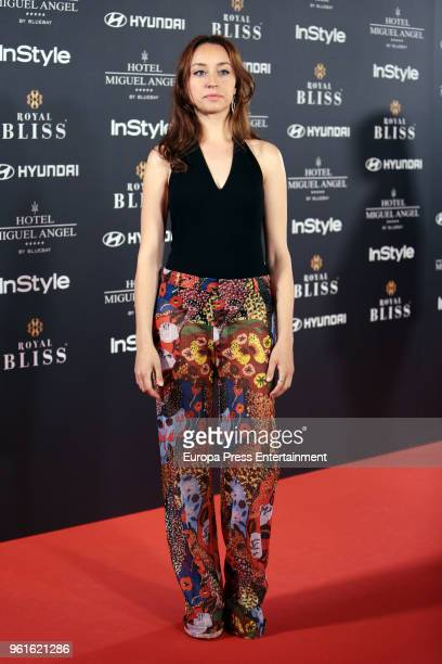 Andrea Trepat attends 'El Jardin Del Miguel Angel And Instyle Beauty Night' party at Miguel Angel Hotel on May 22 2018 in Madrid Spain