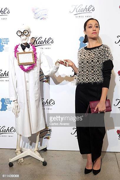 Andrea Trepat attends 'Kiehl's Since 1851' 10th anniversary with a Charity Project party on September 29 2016 in Madrid Spain