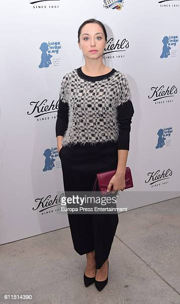 Andrea Trepat attends 'Kiehls's Since 1851' 10th anniversary charity event at Espacio Hermosilla on September 29 2016 in Madrid Spain
