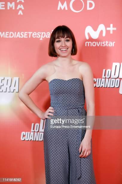 Andrea Trepat attends 'Lo Dejo Cuando Quiera' premiere at Capitol Cinema on April 10 2019 in Madrid Spain