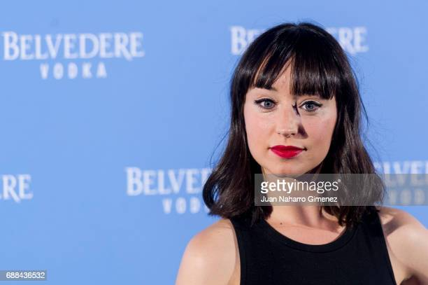 Andrea Trepat attends the Belvedere Vodka party at the Pavon Kamikaze Teather on May 25 2017 in Madrid Spain