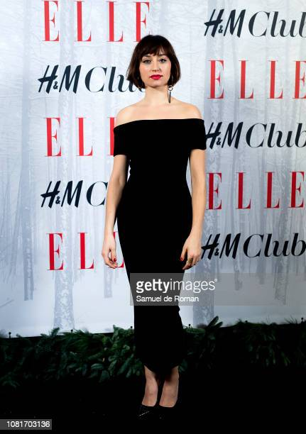 Andrea Trepat attends the Elle Christmas Party on December 12 2018 in Madrid Spain