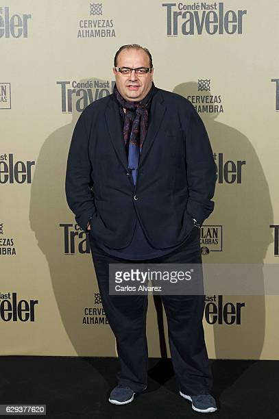 Andrea Tumbarello attends Conde Nast Traveler 2017 Gastronomic Guide presentation at the Royal Theater on December 12 2016 in Madrid Spain