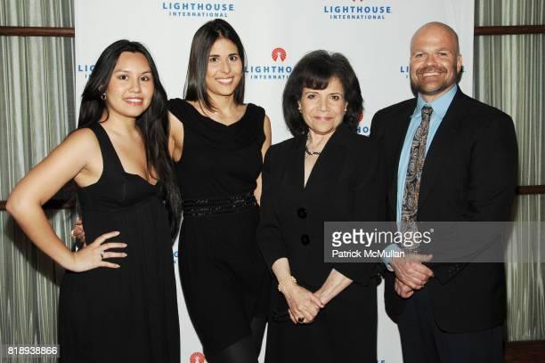 Andrea Vivdor Arielle Himy Leslie Gottlieb and Don Hoffman attend LIGHTHOUSE INTERNATIONAL 'A Posh Affair' Honoring Carolina Herrera Michael Bruno at...