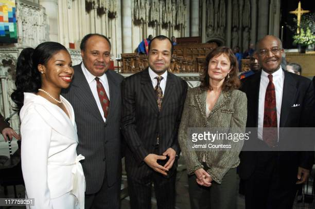 Andrea Waters Martin Luther King II Jeffrey Wright Susan Sarandon and Dr James A Forbes