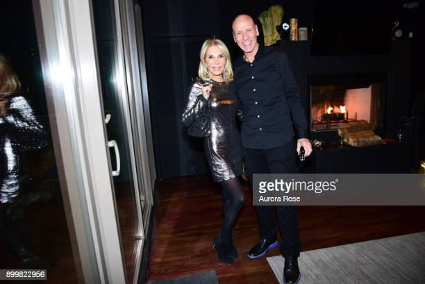 Andrea Wernick and Joel Wernick attend Tracy Stern hosts holiday party at private townhouse in Hell's Kitchen at Private Residence on December 14...